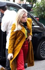 CHLOE MORETZ Arrives at Her Hotel in Paris 06/19/2018