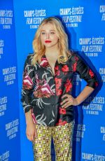 CHLOE MORETZ at 7th Champs Elysees Film Festival in Paris 06/18/2018