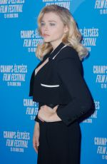 CHLOE MORETZ at 7th Champs Elysees Film Festival in Paris 06/19/2018