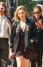 CHLOE MORETZ Out and About in New York 06/07/2018