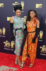 CHLOE X HALLE at 2018 MTV Movie and TV Awards in Santa Monica 06/16/2018