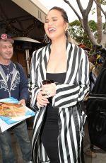 CHRISSY TEIGEN at Il Pastaio in Beverly Hills 05/30/2018