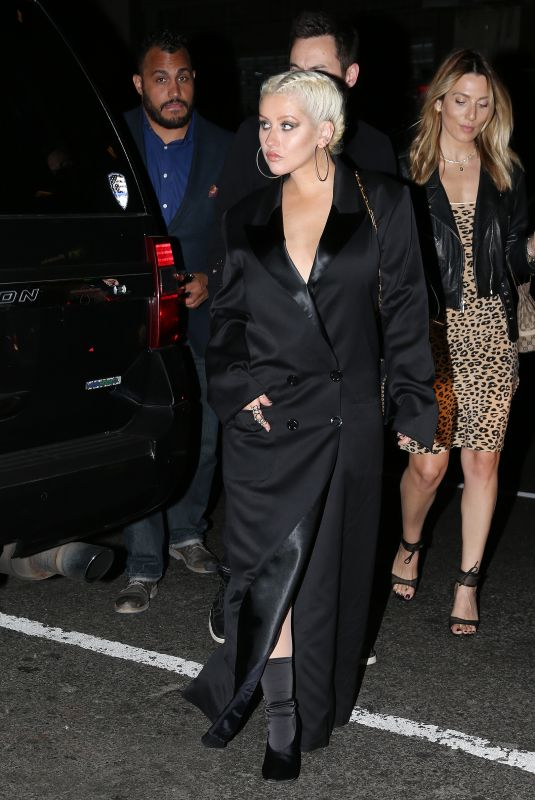 CHRISTINA AGUILERA at Her Album Release Party in New York 06/15/2018