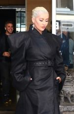 CHRISTINA AGUILERA Leaves Tonight Show in New York 06/14/2018