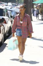 CHRISTINA MILIAN Leaves Susie Cakes in Los Angeles 06/06/2018