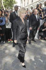 CHRISTINA RICCI Arrives at Dior Homme Spring/Summer Fashion Show in Paris 06/23/2018