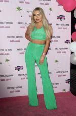 CHYNA ELLIS at Prettylittlething x Maya Jama Launch Party in London 06/25/2018