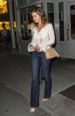 CINDY CRAWFORD Out for Dinner in New York 06/13/2018