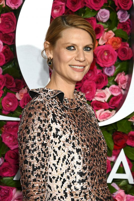 CLAIRE DANES at 2018 Tony Awards in New York 06/10/2018