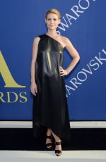 CLAIRE DANES at CFDA Fashion Awards in New York 06/05/2018