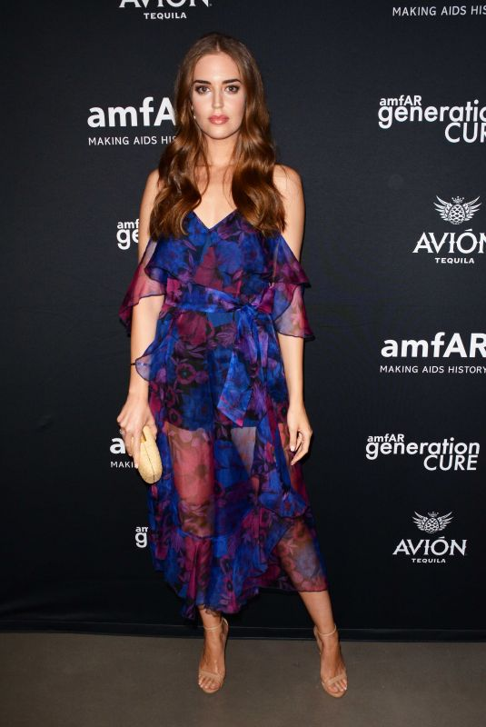 CLARA ALONSO at Amfar Gencure Solstice 2018 in New York 06/21/2018