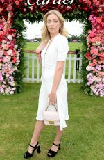 CLARA PAGET at Cartier Queens Cup Polo in Windsor 06/17/2018