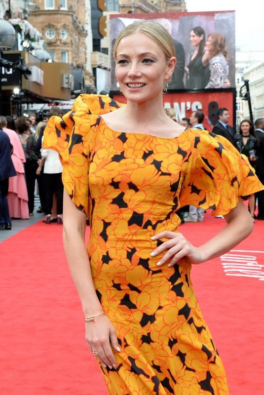 CLARA PAGET at Ocean's 8 Premiere in London 06/13/2018