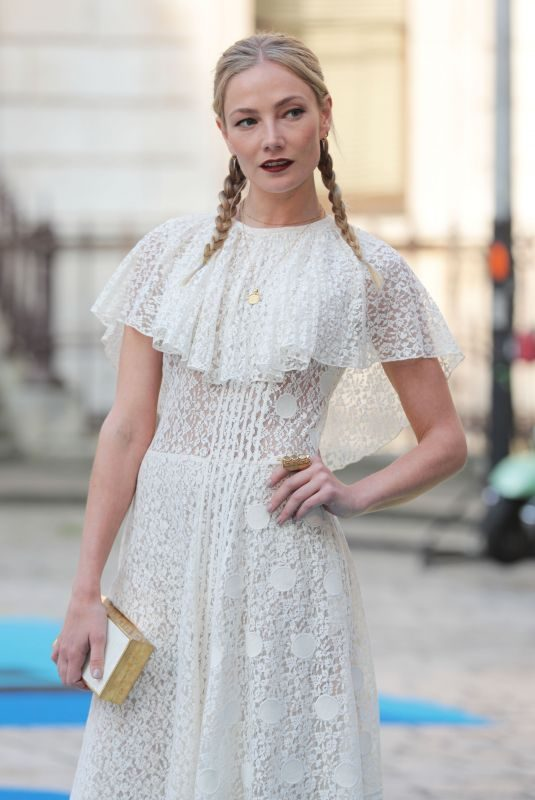 CLARA PAGET at Royal Academy of Arts Summer Exhibition Preview Party in London 06/06/2018