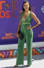 CLAUDIA JORDAN at BET Awards in Los Angeles 06/24/2018