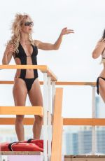 CLAUDIA ROMANI and CAROL PAREDES in Bikinis Out in South Beach 06/03/2018
