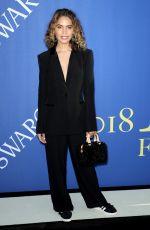 CLEO WADE at CFDA Fashion Awards in New York 06/05/2018