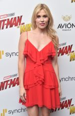 COMFORT CLINTON at Ant-man and the Wasp Premiere in New York 06/27/2018