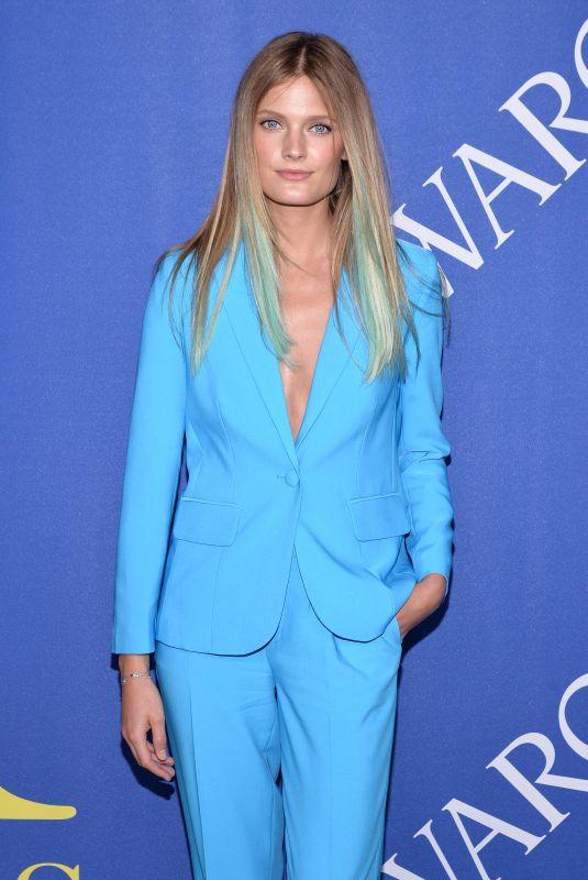 CONSTANCE JABLONSKI at CFDA Fashion Awards in New York 06/05/2018