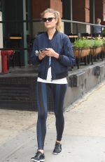 CONSTANCE JABLONSKI Out and About in New York 05/31/2018