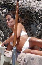 CORAL SIMANOVICH in Bikini at a Beach at Amalfi Coast 06/21/2018