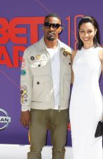 CORINNE FOXX at BET Awards in Los Angeles 06/24/2018