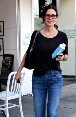 COURTENEY COX Leaves My Secret Skincare Clinic in Beverly Hills 06/14/2018