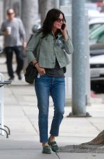 COURTENEY COX Out and About in Beverly Hils 05/31/2018