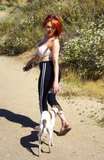 COURTNEY STODDEN Out Hiking in Hollywood Hills 06/16/2018