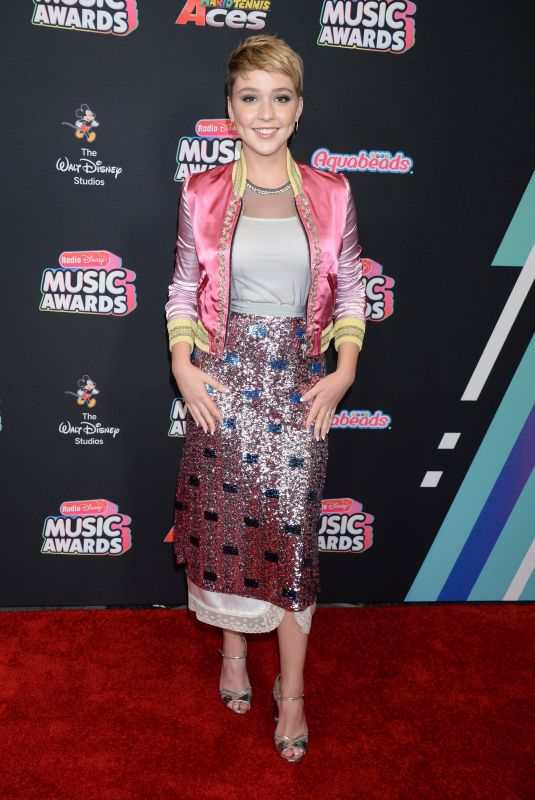 COZI ZUEHLSDORFF at Radio Disney Music Awards 2018 in Los Angeles 06/22/2018