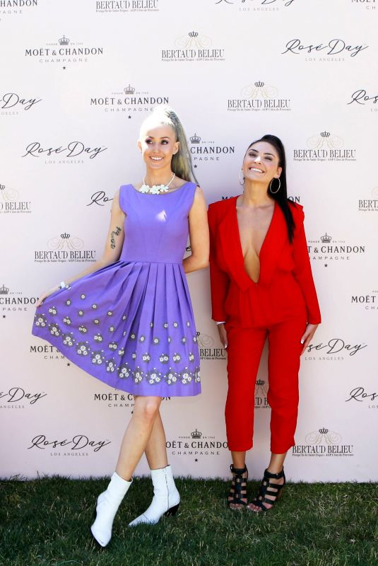DAISY DENNIS and MARLENA POSA at Rose Day LA Launch in Los Angeles 06/09/2018