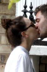 DAISY RIDLEY and Tom Bateman Out Kissing in London 06/08/2018