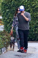 DAKOTA JOHNSON and Chris Martin Out in Malibu 06/24/2018