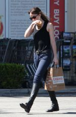 DAKOTA JOHNSON Leaves Erewhon Market in Los Angeles 06/29/2018