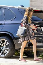 DAKOTA JOHNSON Out and About in Beverly Hills 05/31/2018