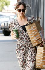 DAKOTA JOHNSON Out Shopping in Venice Beach 06/17/2018