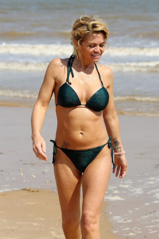 DANIELLA WESTBROOK in Bikini on the Beach in Frinton-on-sea 06/02/2018