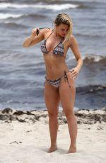 DANIELLE ARMSTRONG in Bikini at a Beach in Miami 06/26/2018