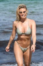 DANIELLE ARMSTRONG in Bikini on the Beach in Miami 06/27/2018