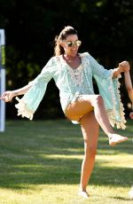 DANIELLE LLOYD at a Park in Birmingham 06/27/2018