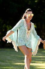 DANIELLE LLOYD at a Park in Birmingham 06/27/2018
