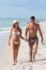 DANIELLE LLOYD in Bikini at a Beach in Miami 06/09/2018