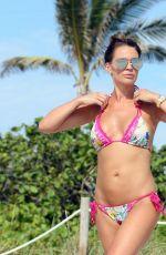 DANIELLE LLOYD in Bikini on the Beach in Miami 06/11/2018
