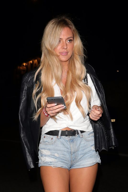 DANIELLE SELLERS at Love Island Screening in Camden 06/04/2018