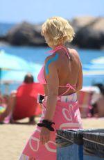 DANNIELLA WESTBROOK in Bikini at a Beach in Spain 06/28/2018