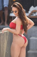 DAPHNE JOY in Bikini on Vacation in Mykonos 06/21/2018