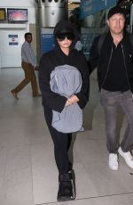 DEMI LOVATO at Charles De Gaulle Airport in Paris 06/03/2018