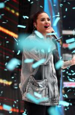 DEMI LOVATO Performs at Capital Radio Summertime Ball 2018 in London 06/09/2018