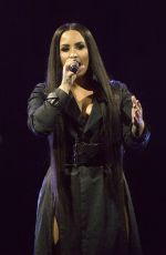 DEMI LOVATO Performs at SSE Hydro Arena in Glasgow 06/13/2018