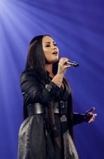 DEMI LOVATO Performs at Tell Me You Love Me Tour in Barcelona 06/21/2018